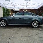 Side view of an Audi
