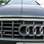 Front view of an Audi