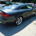 Back side view of an audi