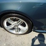 Audi side view of a wheel