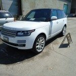 range rover front side view