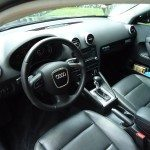 front interior of an audi
