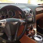 Bentley dashboard